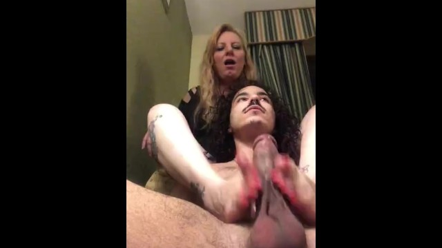 Mature footjob mud - Goddess rhondas oily footjob/handjob