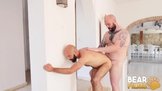 BEARFILMS Bear Justin West Drills Young Cub After Blowjob