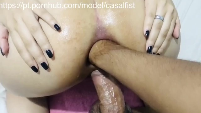 Anal penis Porno Lunch