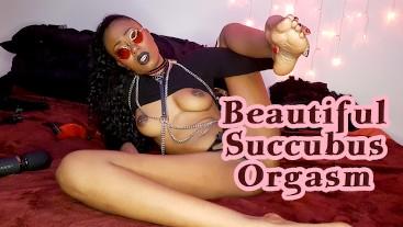 Beautiful Succubs Orgasm