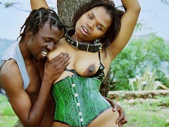 african stepmom first fetish lesson