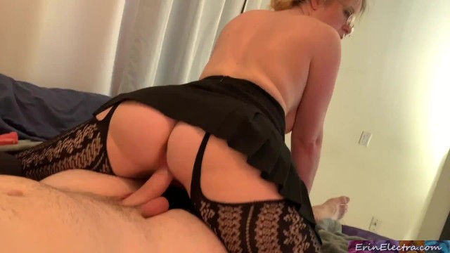 Erin cummings boobs Stepdaughter helping to make a porno - creampie home video