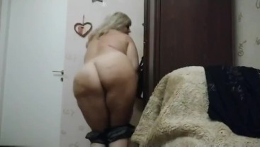 Candy cubby showing so sweet body alone home