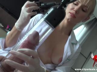 Nurse's Secret Teasing Touch *4k