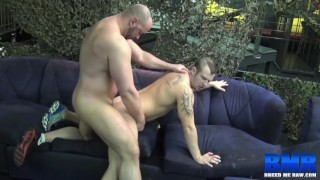 BREEDMERAW Hunk Tyler Reed Fucks Slutty Holes Balls Deep