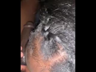 Sloppy head cum shot swallowed