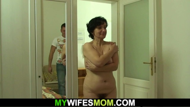 Mother in law ride cock outdoors - Hairy mother-in-law rides his horny cheating dick