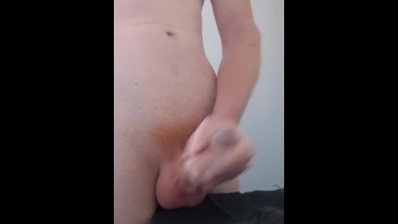 Daddy Drops A Quick Load In The Bathroom