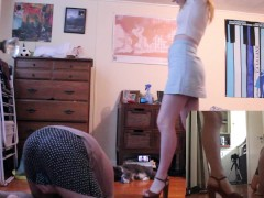 Spring Has Sprung... And So Have I   FULL CLIP - Miss Chaiyles Ballbusting!