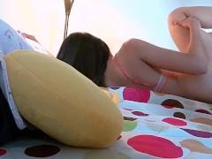 HECHO en CASA,Graban Linda Adolescent Mexicana Cogiendo por su lindo CULO.