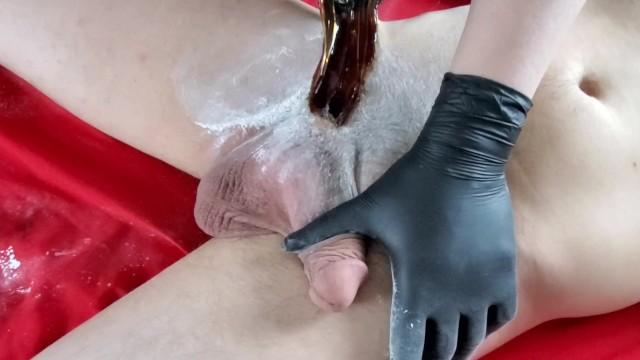 Hot wax cock