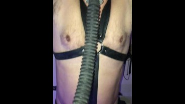 Lads used in the playroom. Restrained and FUCKED.