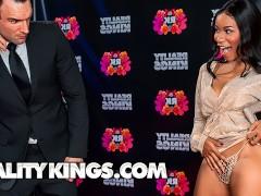 Reality Kings - Ebony influencer Jenna Foxx show off big tits