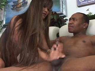 Amateur Exotic Babysitter´s First Scene in Porn with a Big Black Guy BBC