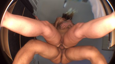 Big Ass PAWG tested for the Corona Virus and cums back HORNY !!