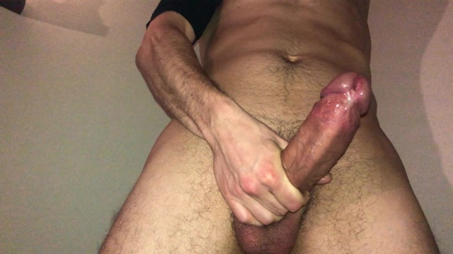 Uncircumcised male masturbation Hot uncircumcised stud jerks off big cock and cums. coronavirus quarantine