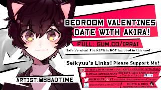 [NSFW ROMANTIC BOYFRIEND ASMR] Bedroom Date with Akira!