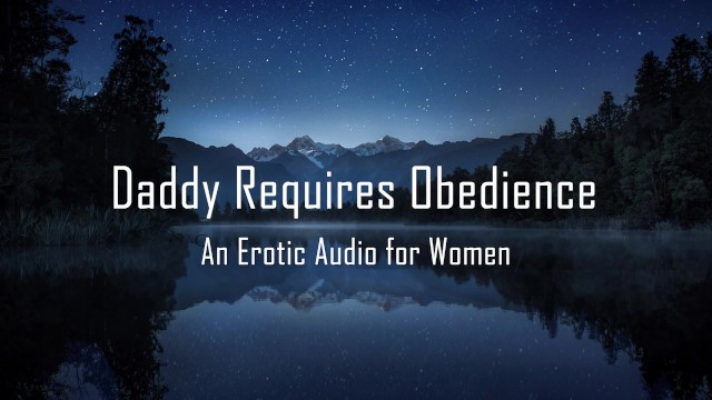 59 dd breast - Daddy requires obedience erotic audio for women dd/lg rough
