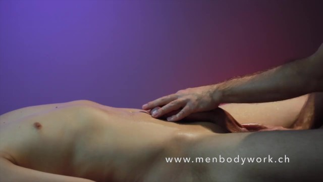 Gay massage sauna - Genital meditation by julian martin