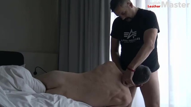 Gay fucking preview - English leather master - waking my boy with a throat fucking preview