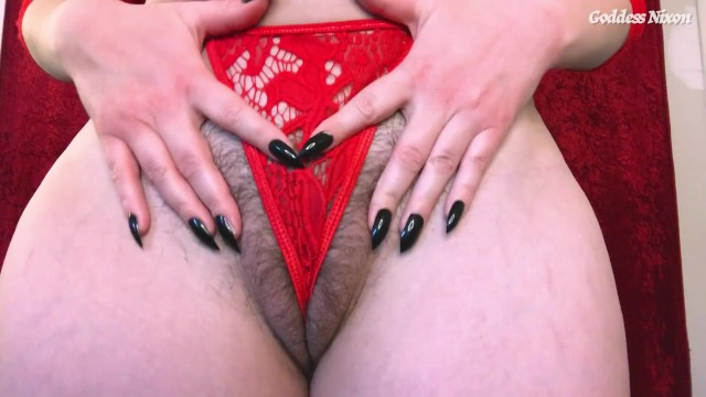 All natural matures - Think less, jerk more - femdom joi encouragement hairy pussy natural boobs