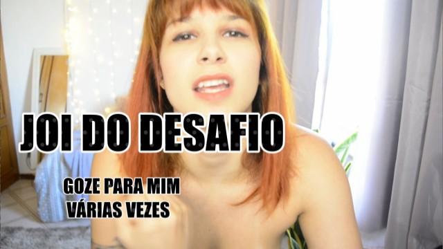 Portugues porn tube Joi do desafio goze sem parar pra mim - punheta guiada em português asmr
