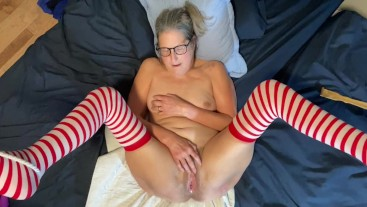 Hot Milf POV Fingering Wet Pussy And Playing With Dildo's