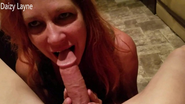 North american nude biker rally Buddys red head wife sucks swallows my hard cock at biker rally