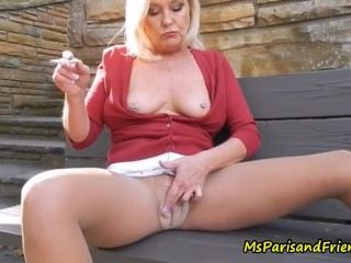 Wet Pussy and Smoking Hot Pantyhose Experiments