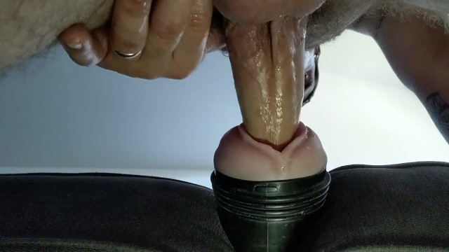 Hairy married girls - Married daddy fucking fleshlight while wife is napping