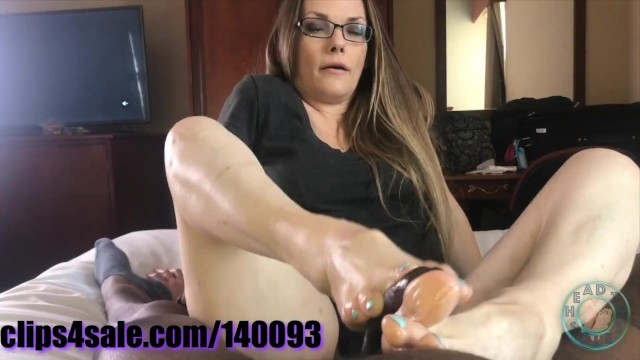 Ways to cause orgasm - Ms milkie way footjob compilation