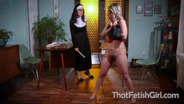 Mean Nun Teases Schoolgirl's Desperation