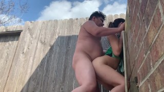Screen Capture of Video Titled: Stay home for quarantine and enjoy your sex life... my neighbor diosaera