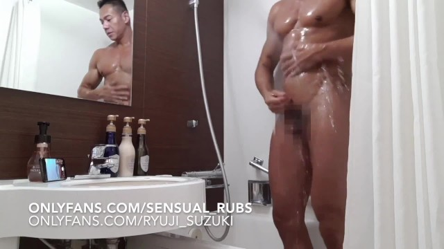Art erotic gay male - Japanese pornstar ryuji comes over for erotic massage and edged to cum
