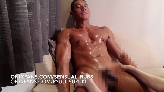 Gay masage pics nude Japanese pornstar ryuji comes over for erotic massage and edged to cum