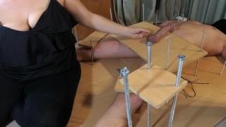 Amateur Femdom Handjob CFNM TortureFeet Tickling TortureRuined Orgasm