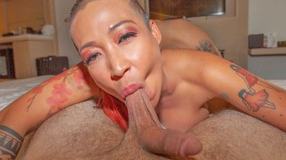 TUKTUKPATROL Busty Inked Up Asian Slut Craves Cock