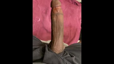 BBC Daddy Stroking Moaning and Talking