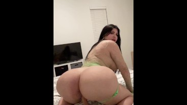 Brother Watches Big Ass 18yo Stepsister Fuck A Dildo In Slow Motion