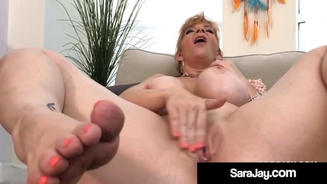 Ll cool jay sexy body - Pawg milf sara jay rubs her body masturbates mature muff