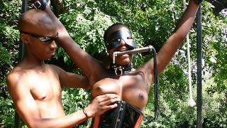 bdsm lesson for african stepsister