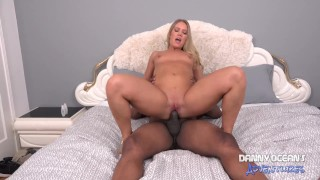 DOCEAN PAWG Candice Dare Ass Rimming and Creampied by Black BF