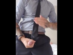 Lunchtime Hotel hookups, cum soaked suit
