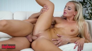 Doghouse – Blonde Victoria Pure gets anal creampied