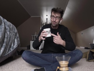 Dancing an drinking coffee daily coffee episode 4
