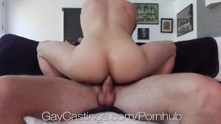 GayCastings Casting Agent Fucks Multiple Tight Asses Compilation
