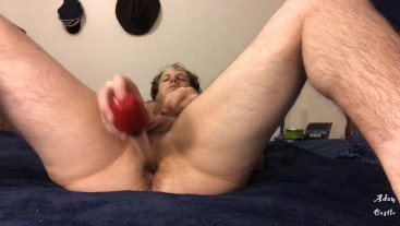 Stud Fucks His Ass With Turkey Baster 2 Cum Eat