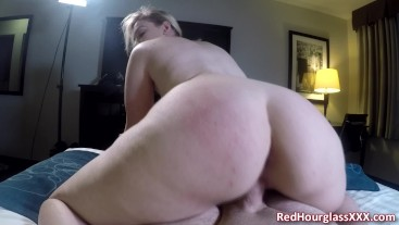 Young blonde PAWG Krystal Kash comes to my hotel room for a booty call