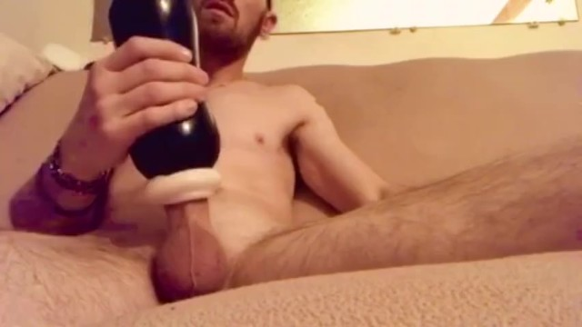 Grunting cum - Muscular guy couldnt edge any longer moaning/grunting cumshot