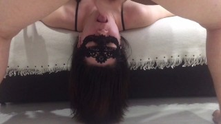 She loves being fucked in her mouth and cum in her throat